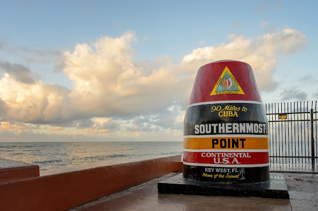 Southernmost Point Buoy at Key West, Florida