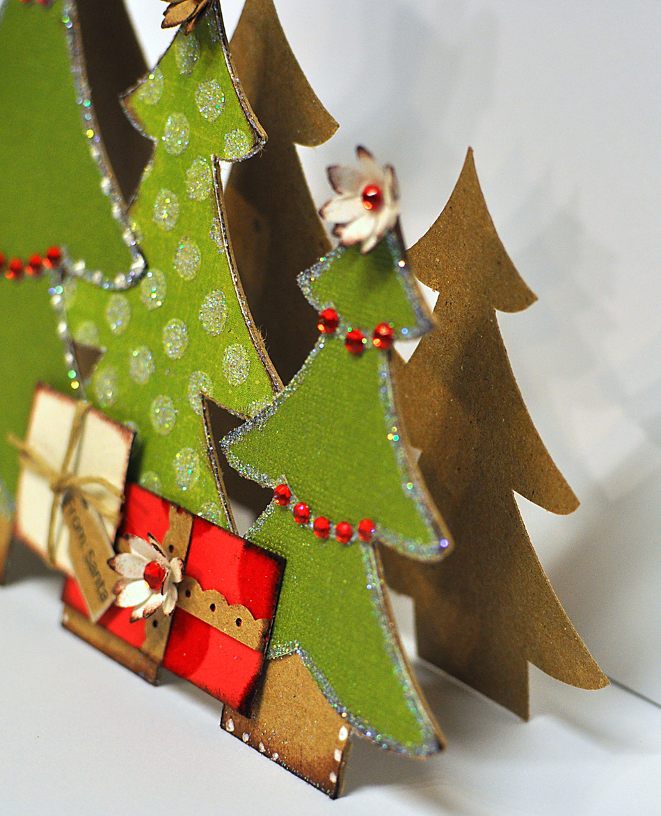 Christmas Tree Trio: Hand To Paper: IT'S STARTING TO LOOKING LIKE CHRISTMAS
