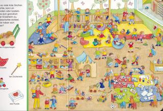 виммельбух детский сад