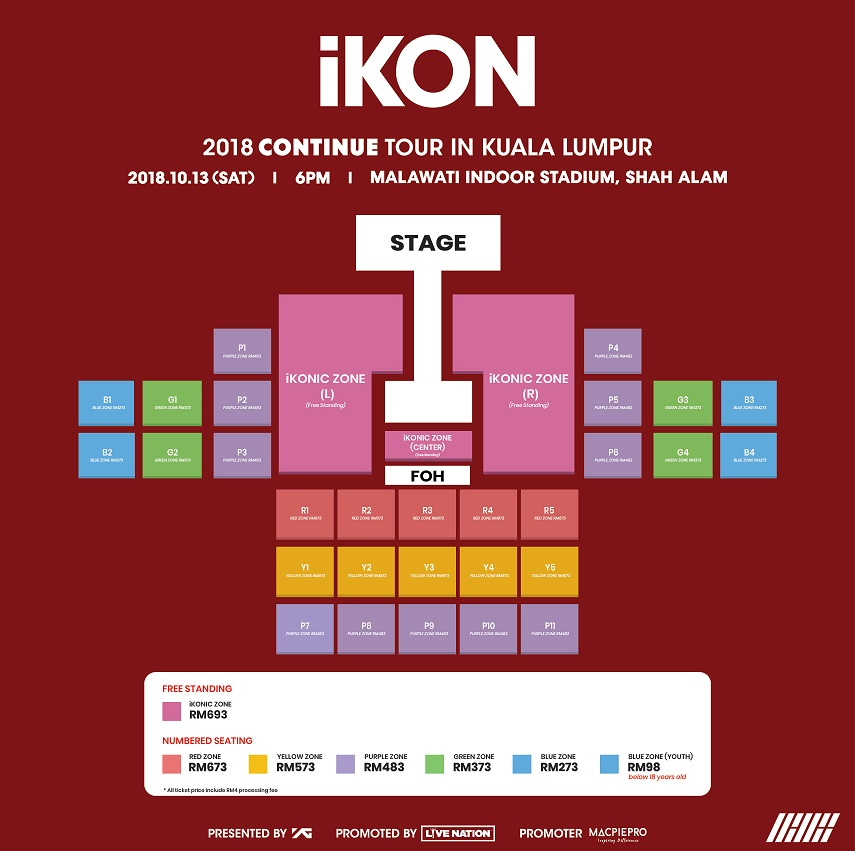 Tickets For Ikon And Winner S Back To Back Kl Concerts Start At Rm98 Thehive Asia