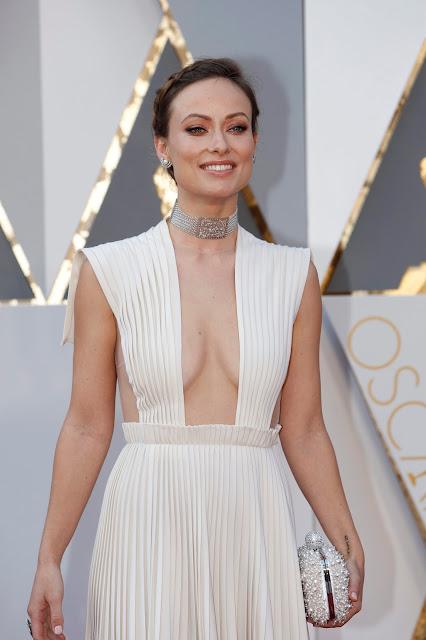 Oscar 2016 Olivia Wilde vestida de Valentino Alta Costura