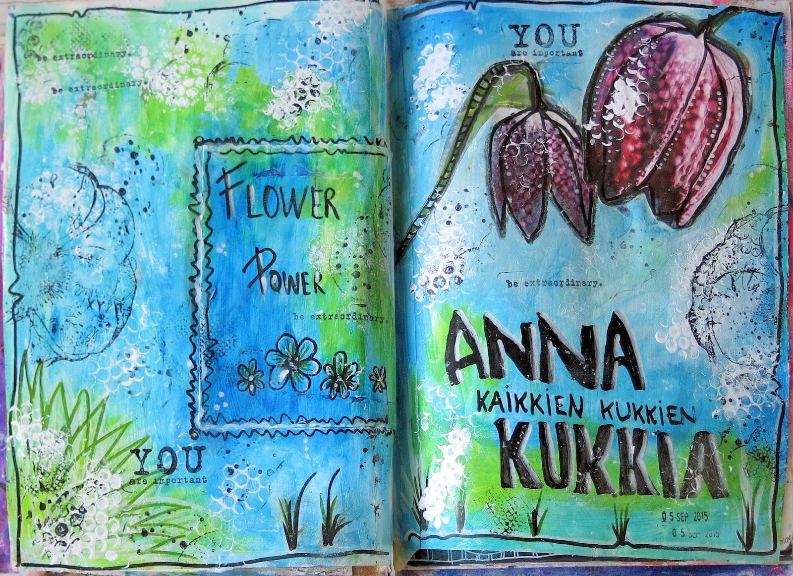 Anna Kaikkien Kukkien Kukkia