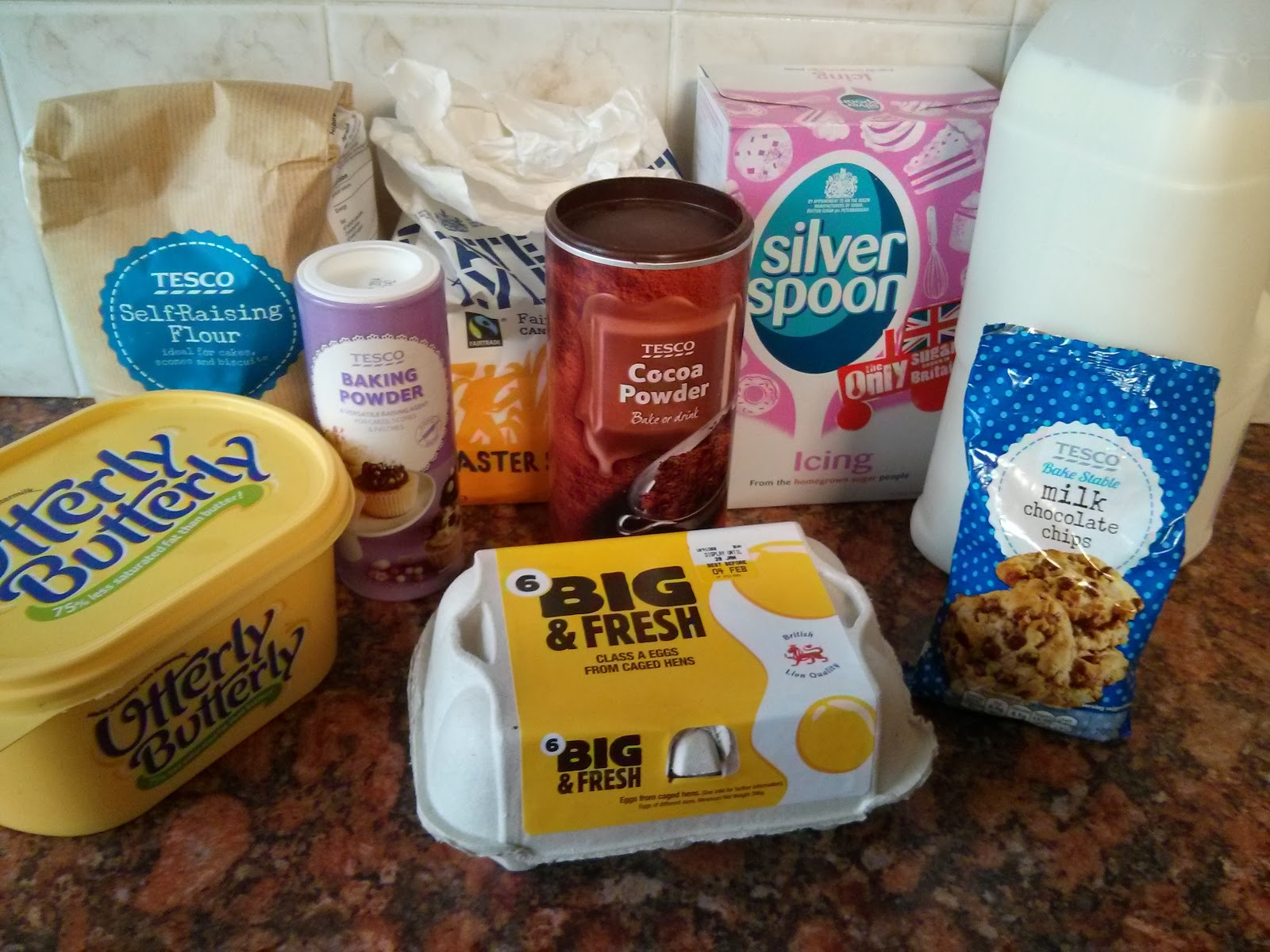 Maths Cake Ingredients