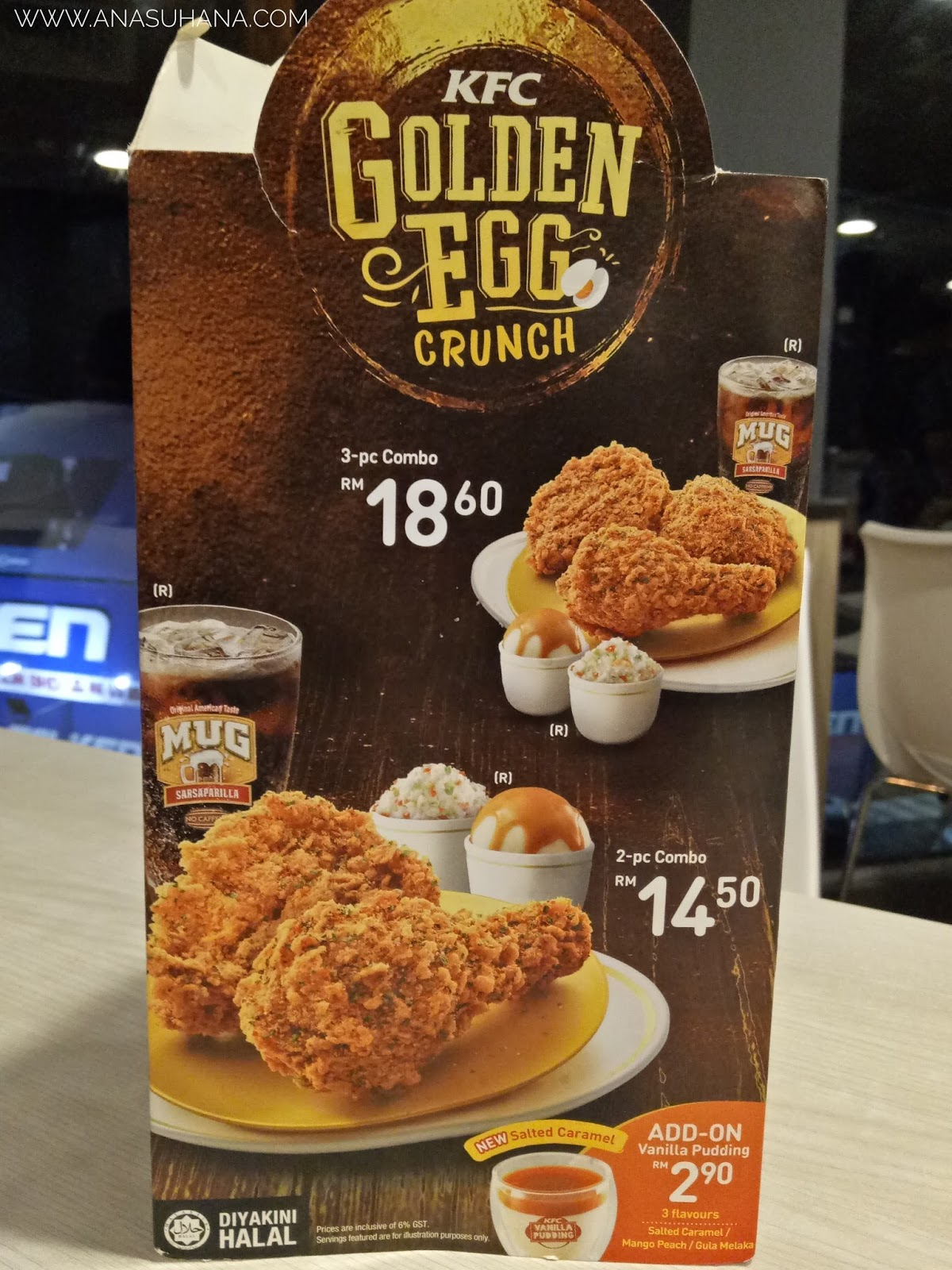 KFC Golden Egg Crunch