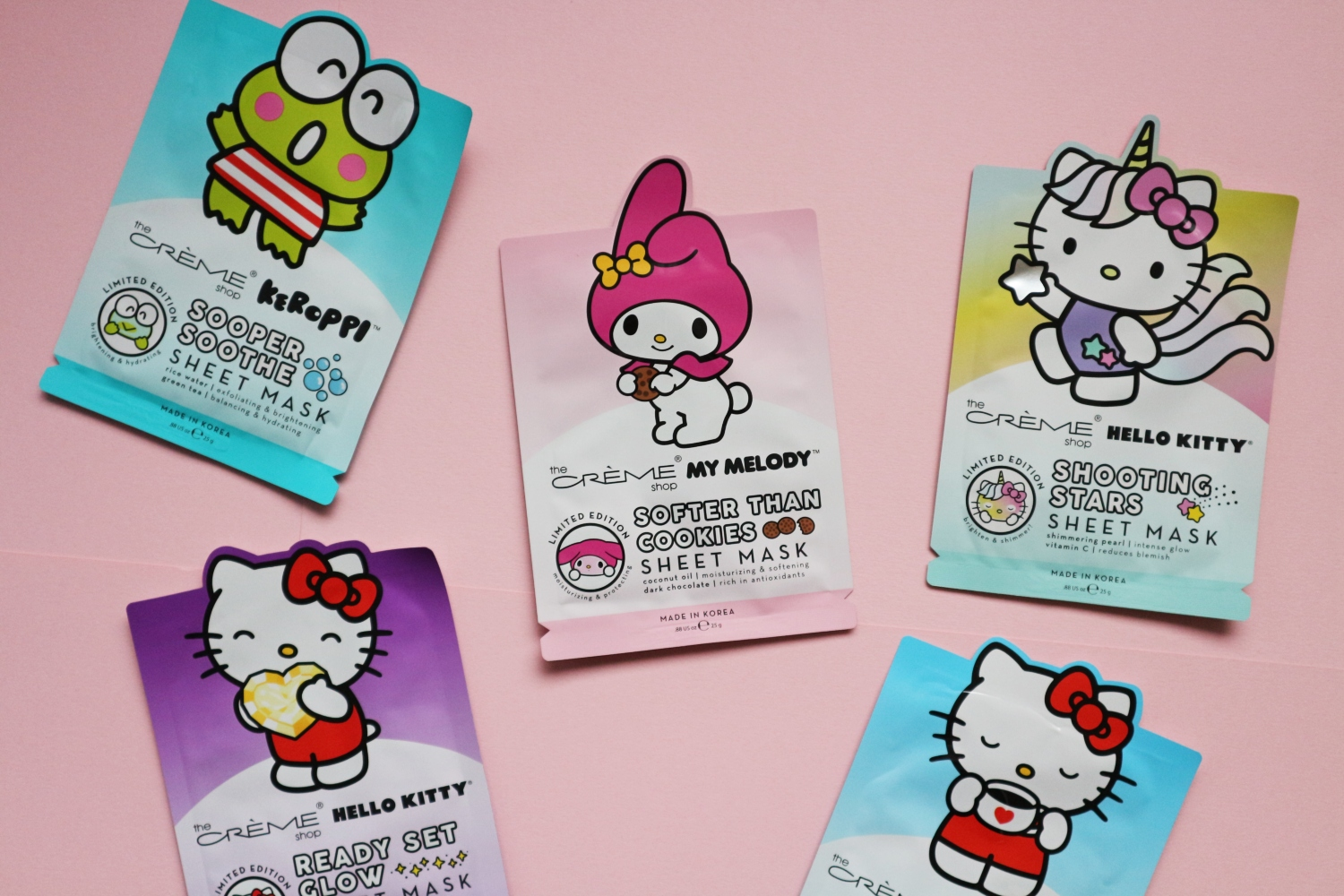 the creme shop hello kitty sheet mask