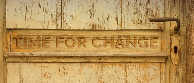 Tiempo de Cambiar