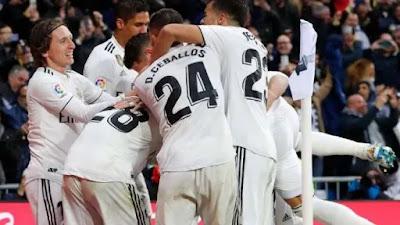 Real Madrid Sukses Permalukan Atletico