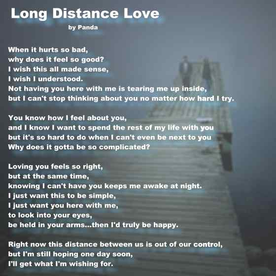 Distance Quots: I Love You-Picture And Quotes