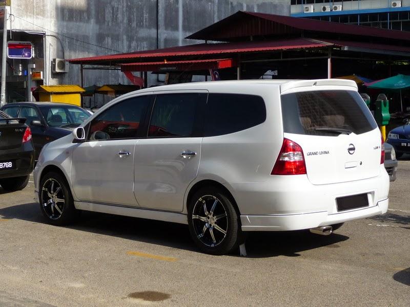 Dunia Modifikasi Modifikasi Mobil Nissan Grand Livina Terbaru