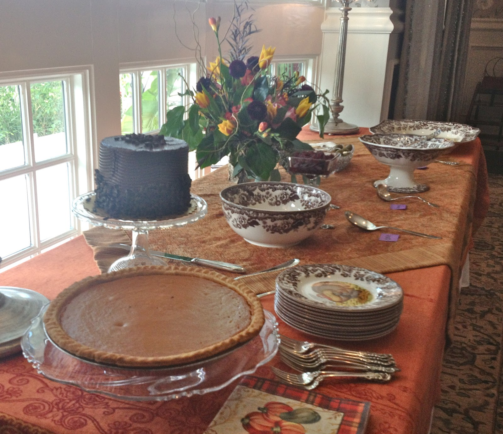 William Sonoma Chair Covers King Size Lawn Pam 39s Tablescapes Thanksgiving 2012