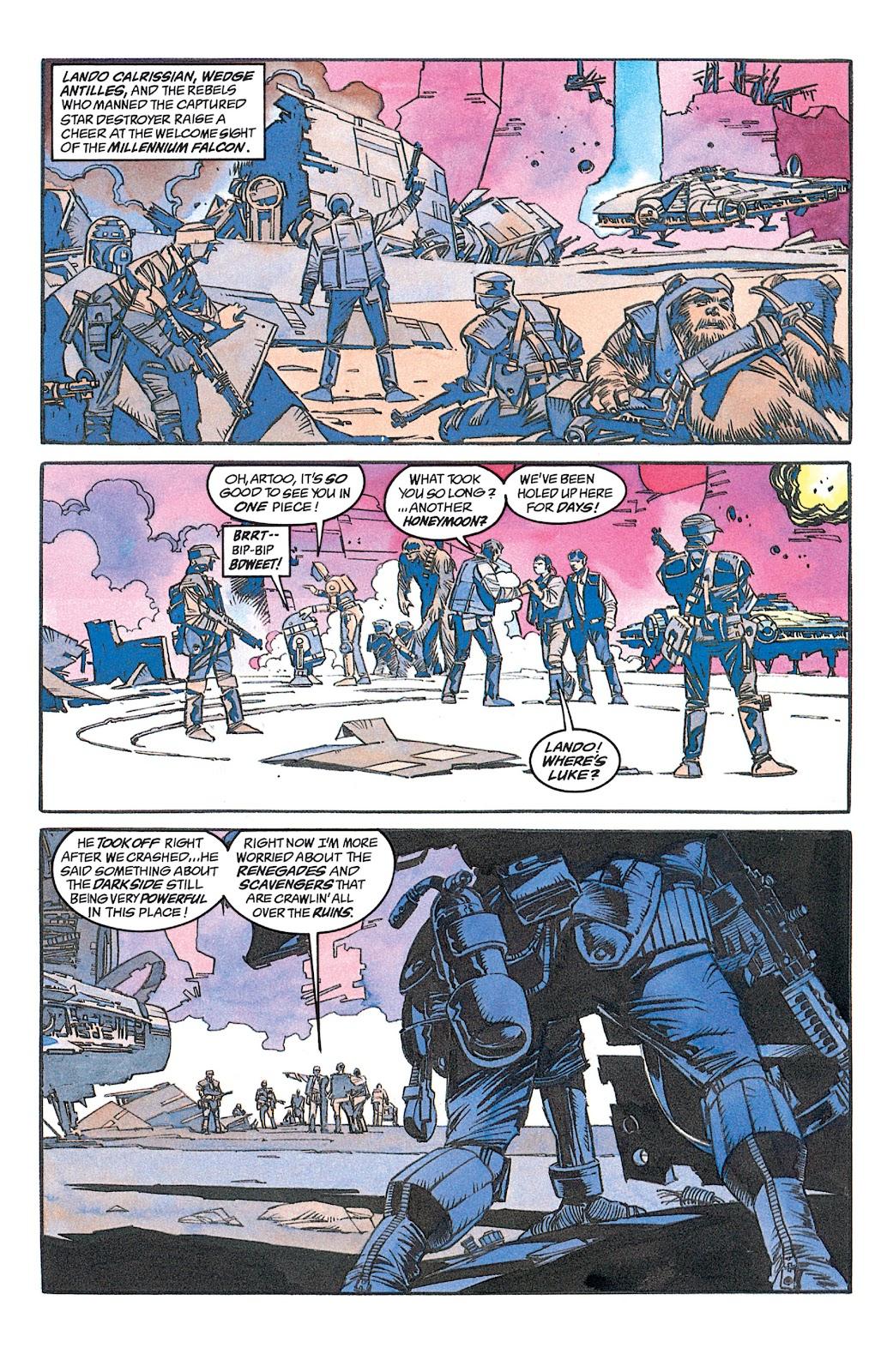 Read online Star Wars: Dark Empire Trilogy comic -  Issue # TPB (Part 1) - 17