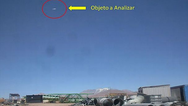 UFO footage caught on camera over Chile and confirmed by scientists and the Chile government.