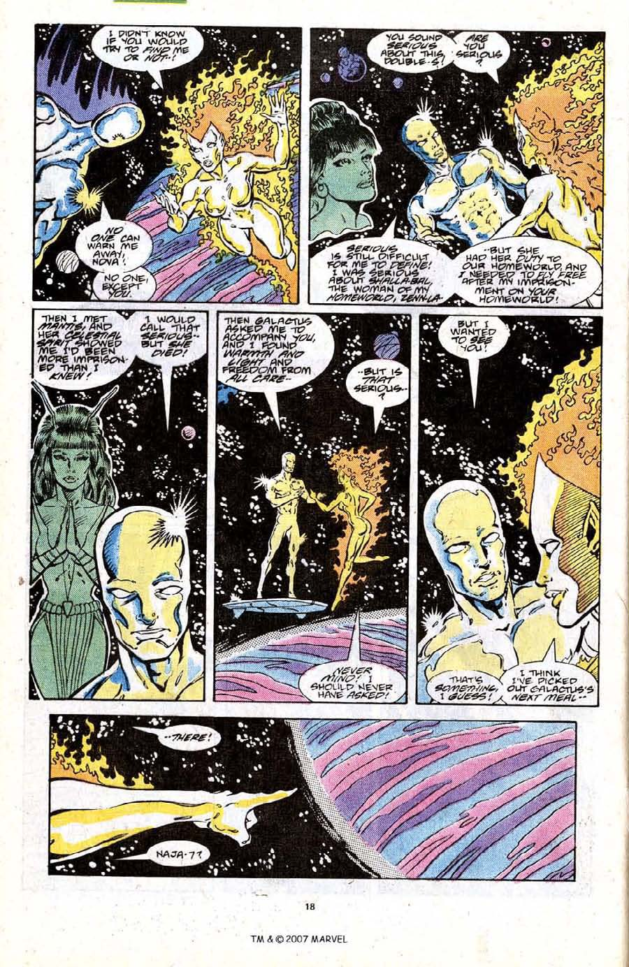 Read online Silver Surfer (1987) comic -  Issue #19 - 20