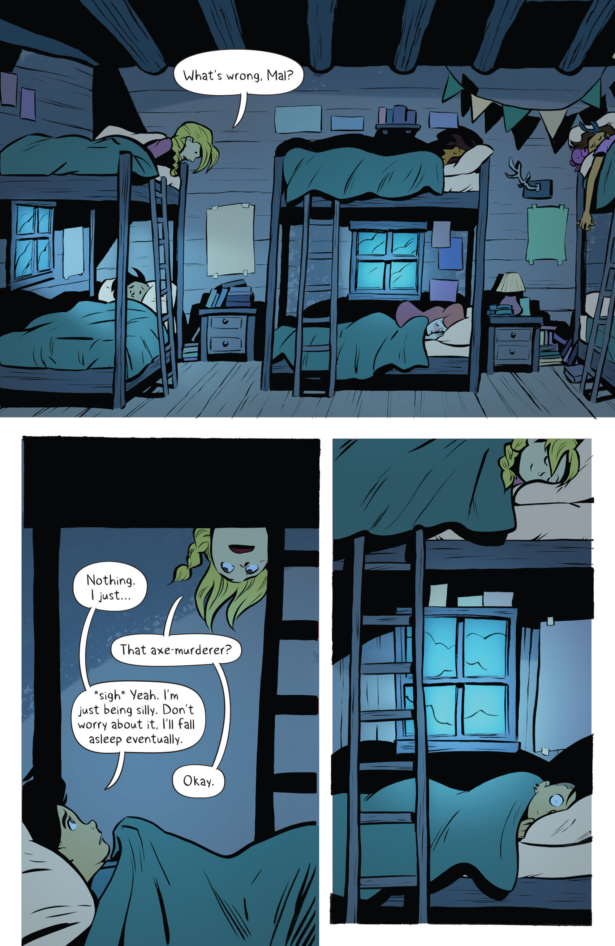 Read online Lumberjanes: Makin' the Ghost of It 2016 Special comic -  Issue # Full - 13