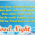 Best Good night Status messages for friends
