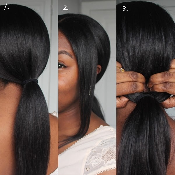 Special Occasion Hair Tutorial Low Bun With A Twist A Sprinkle