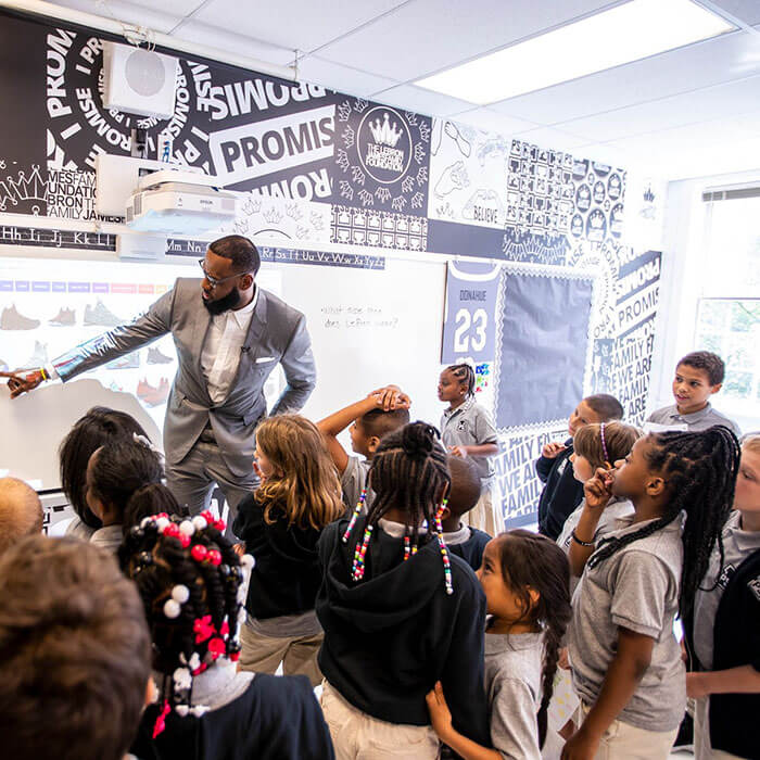 LeBron James Opened A Public School To Change The Lives Of Children In His Hometown. The Whole Project Might Cost Him Over $100 Million