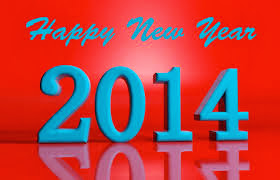 Happy New Year 2014 3D Images HD Wallpapers