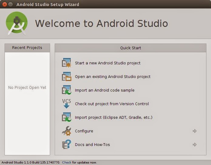 Let's Code_: Developing Android Apps: Installing Android Studio on