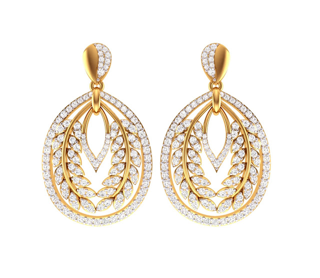 Dual Oval Earrings_INR 6,48,000