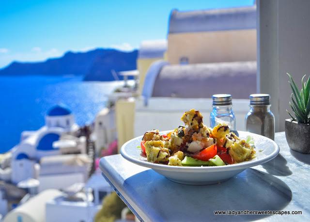 Santorinian Salad