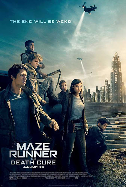Poster Maze Runner The Death Cure 2018 Full Movie Dual Audio Hindi 720p