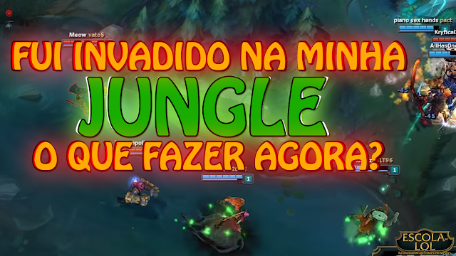 Fui invadido na Jungle