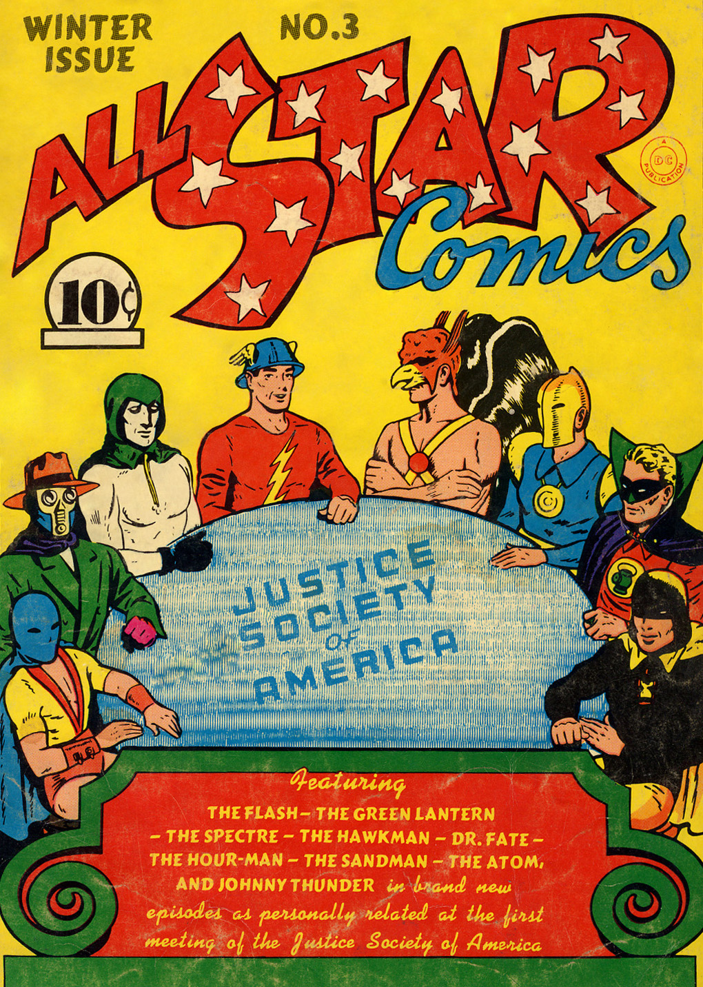 Read online All-Star Comics comic -  Issue #3 - 1