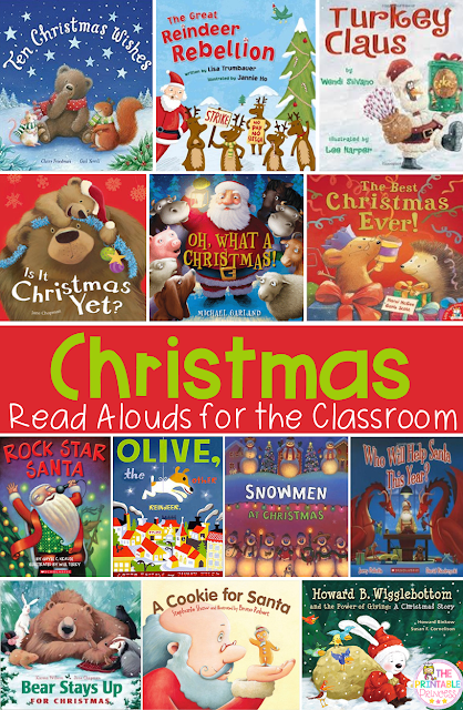 Check out these great Christmas books! You can read these all December long in your preschool, Kindergarten, 1st, or 2nd grade classroom or homeschool. These are promised to be fun and engaging for your kids or students. All come highly recommended by a Kindergarten teacher!