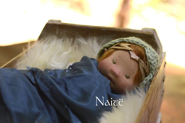 "Naitë, a 13.5"" Thalita Dol Baby"