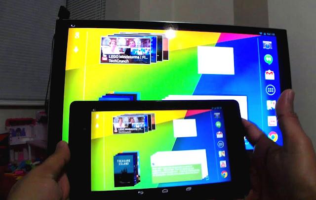 perangkat android ke TV