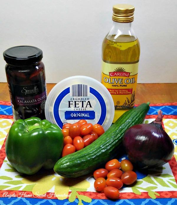 Home Sweet Homestead: Greek Salad