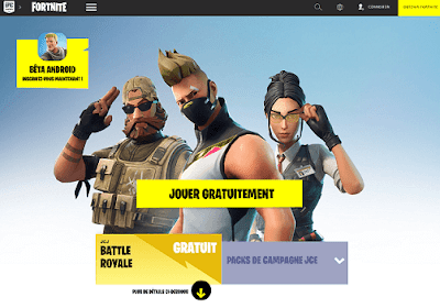 FORTNITE Android Télécharger