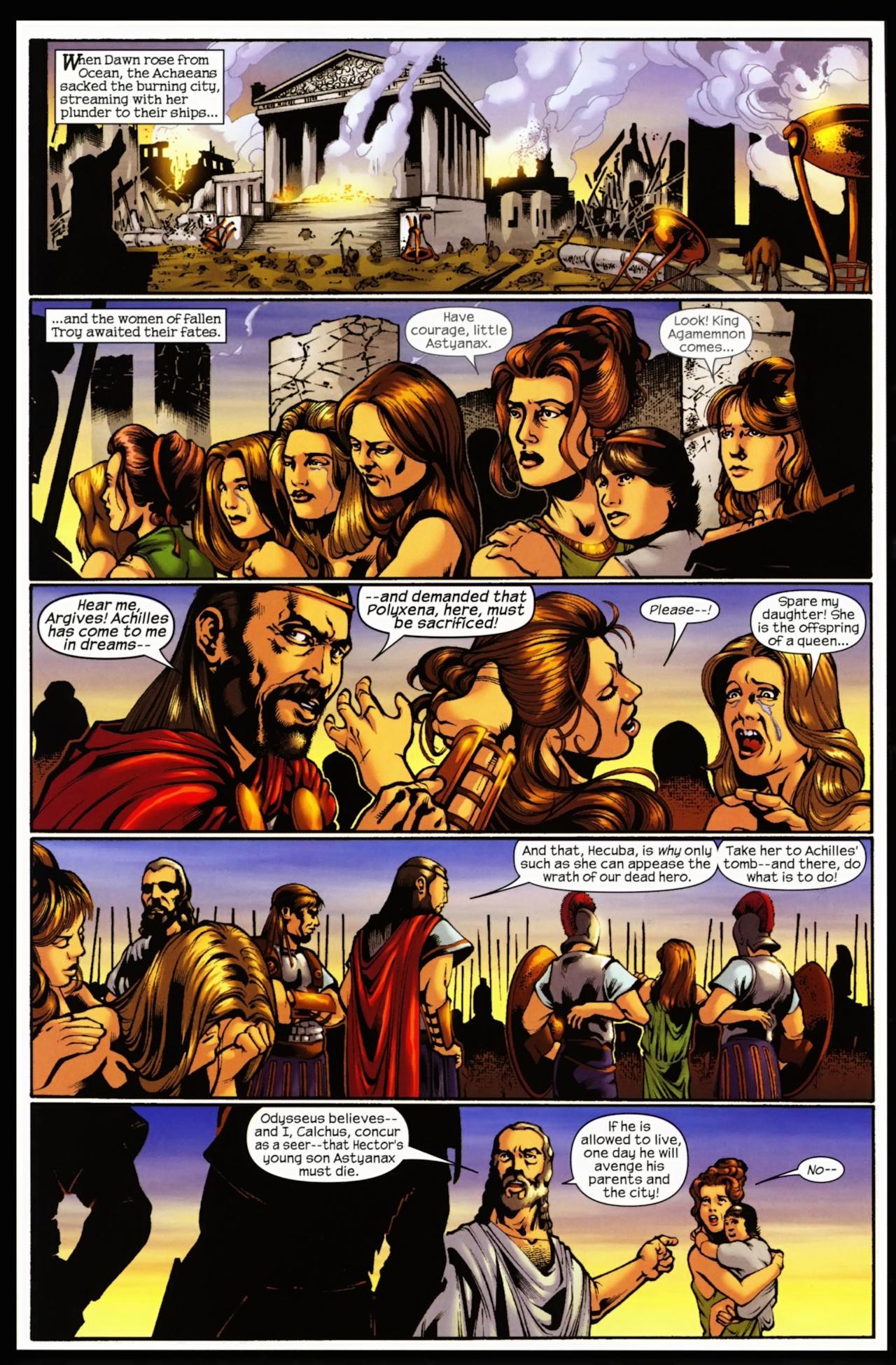 Read online Trojan War comic -  Issue #5 - 18