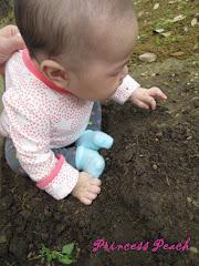 玩沙的茉莉