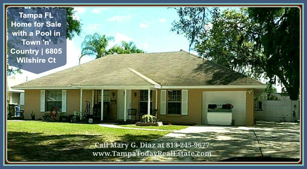 homes for sale in south tampa tampa fl home for sale with a pool in town 39 n 39 country 6805. Black Bedroom Furniture Sets. Home Design Ideas