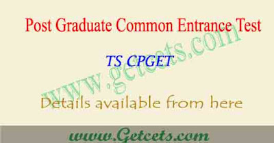 TS CPGET Apply online 2021-2022, eligibility criteria @tscpget.com