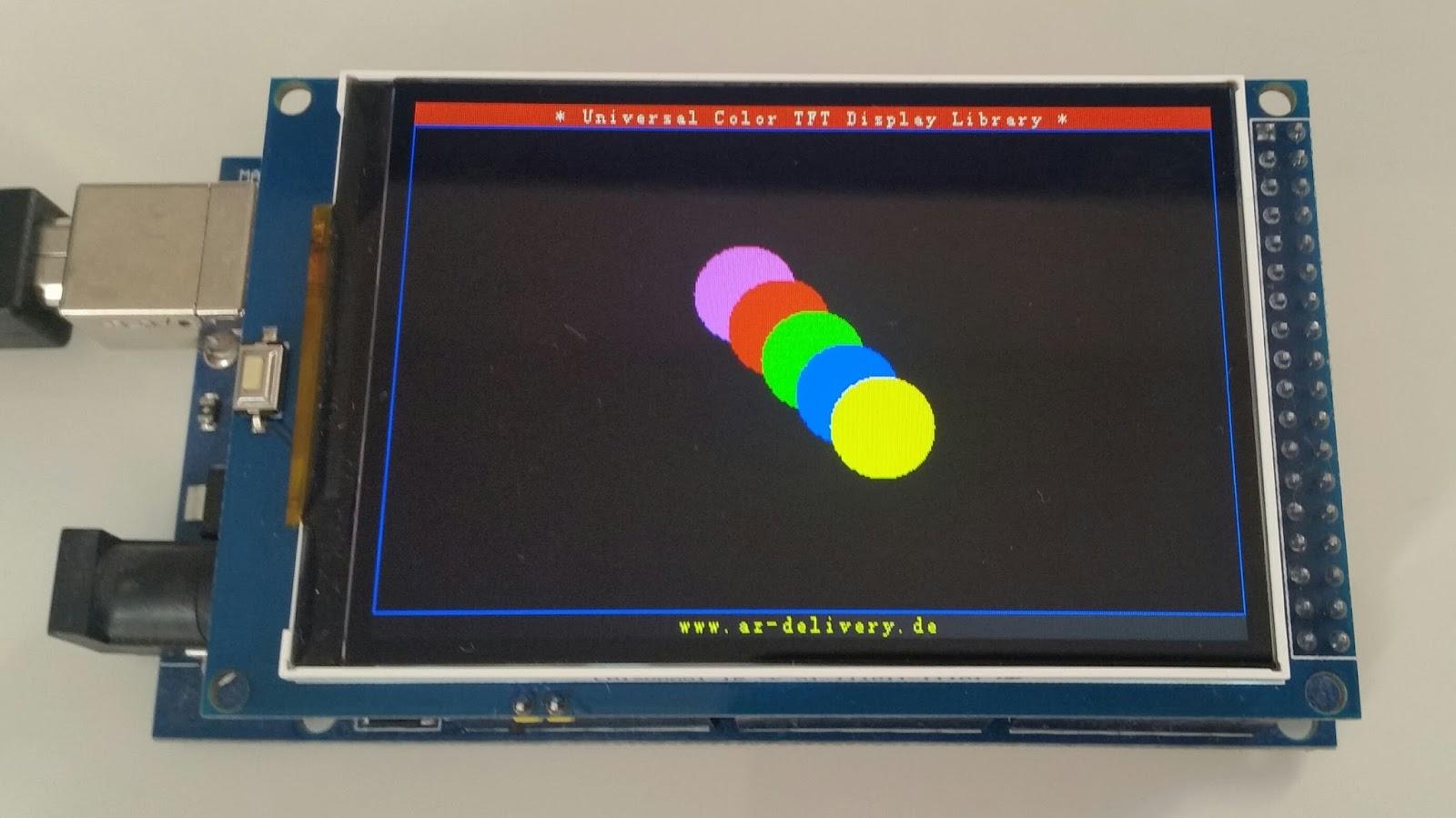 michaelsarduino tft display mit arduino verwenden. Black Bedroom Furniture Sets. Home Design Ideas