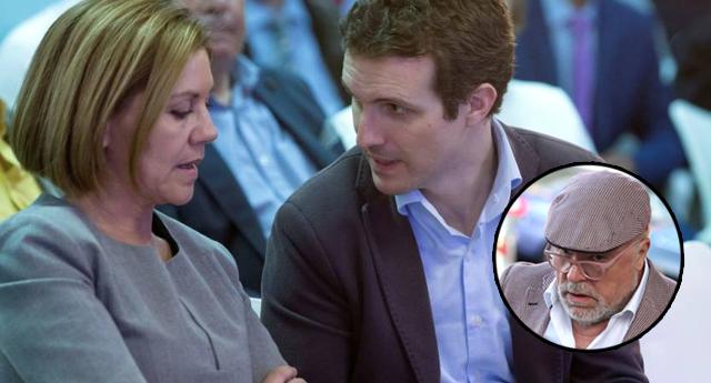 Cospedal se reunió en secreto con Villarejo en la sede del PP para hablar sobre la Gürtel