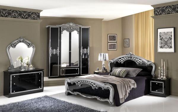 Habitaciones color plata dormitorios colores y estilos for Dormitorio wengue y plata