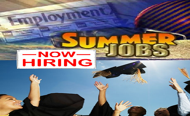 Want an Extra Income and Jobs Experience;Summer Jobs Is Good for You