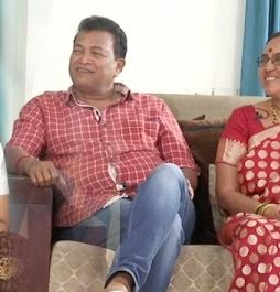 Gautam Raju Family Wife Parents children's Marriage Photos