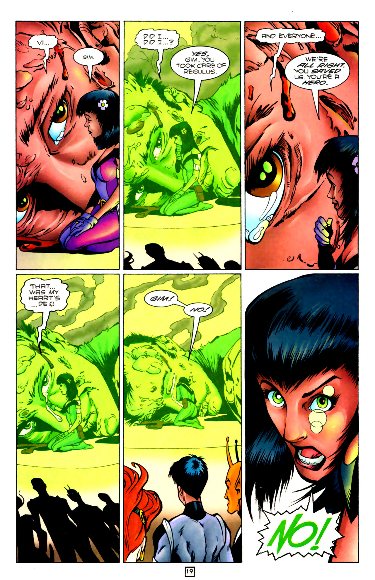 Legion of Super-Heroes (1989) 83 Page 18