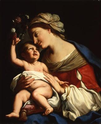 La Vierge et l'Enfant (1663), Elisabetta Sirani