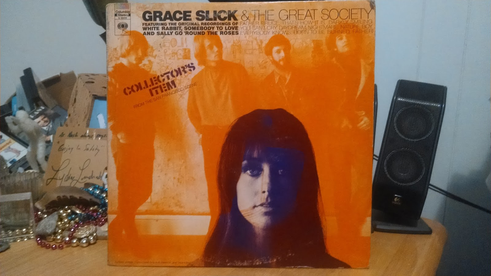 DOWN UNDERGROUND: GRACE SLICK AND THE GREAT SOCIETY