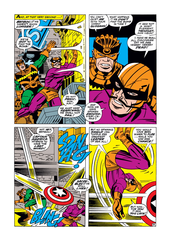 Read online Captain America (1968) comic -  Issue #105 - 14