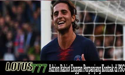 Adrien Rabiot Enggan Perpanjang Kontrak di PSG