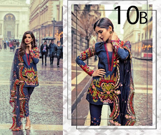 Mina Hasan Eid Lawn Collection By Shariq Textile