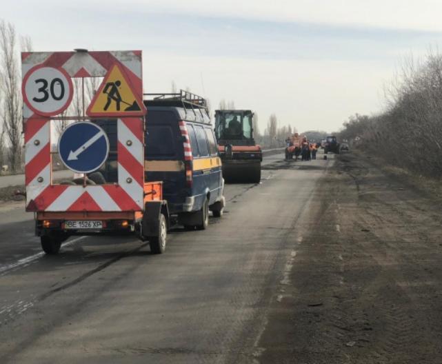 В Николаевской области на ремонт дорог Н-11 и Н-14 направят 700 миллионов гривен