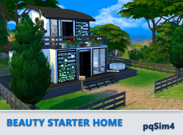 Beauty Starter Home. Exterior 6
